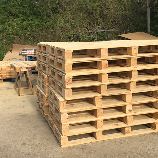 used wooden pallets and pallet recyclins a big part of what the
