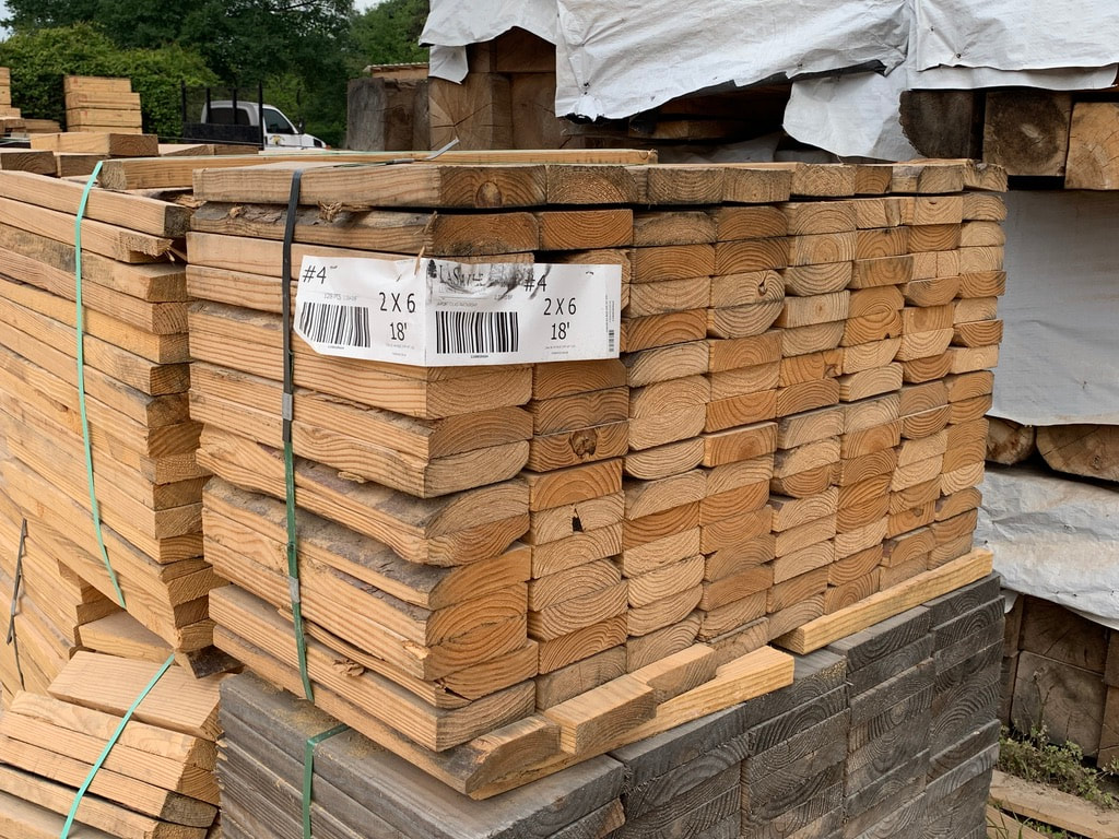 Pallet composition ends up playing a major role in how we conduct pallet recycling