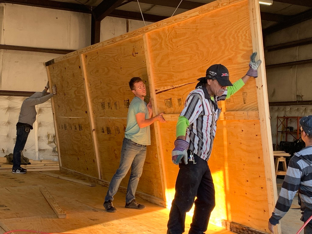 wooden crates are a big part of what The Pallet Guys do in Houston, Texas
