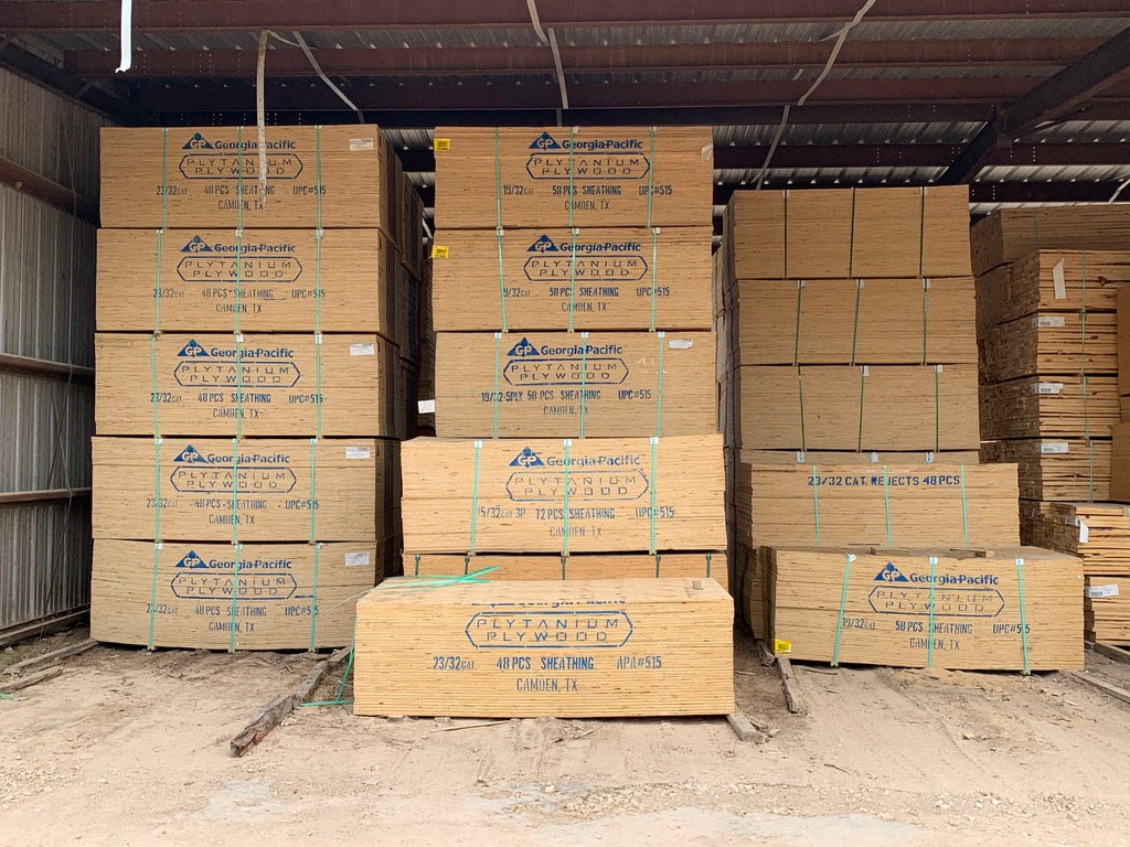 PLYWOOD AND LUMBER FOR SALE