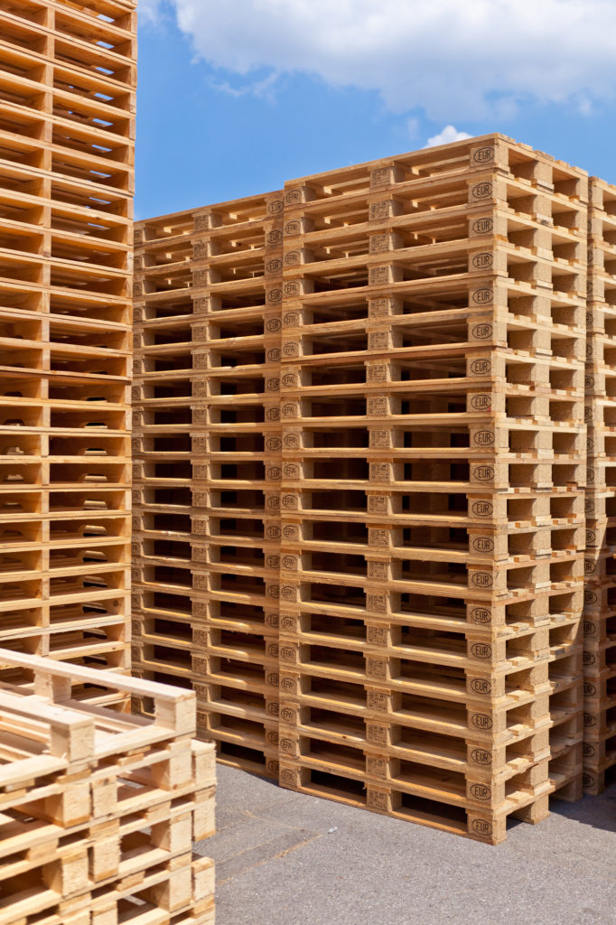 wood pallets from The Pallet Guys