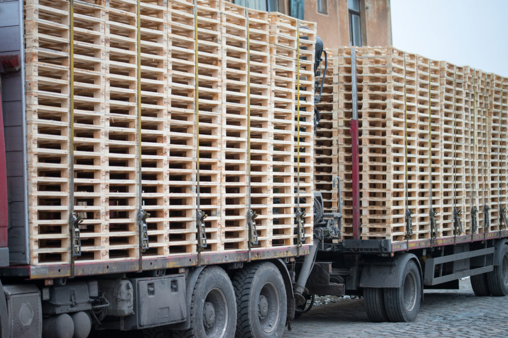 new wooden pallets are a big part of the success of The Pallet Guys