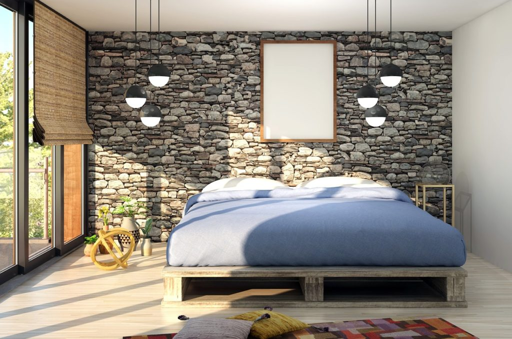 pallet beds are a growing trend with the new wooden pallets from The Pallet Guys